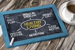 Healthy living concept Stock Photos