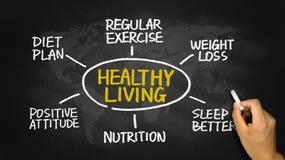 Healthy living concept Royalty Free Stock Photos