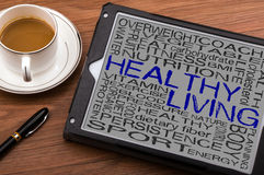 Healthy living concept Royalty Free Stock Photo