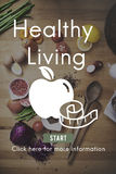 Healthy Living Life Nutrition Development Active Concept Stock Image