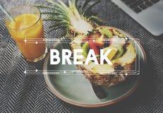 Healthy Living Lifestyle Break Concept Stock Photo