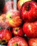 Healthy living. Preparing some fresh apples Stock Photo