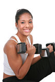 Healthy Looking Young African American Female Stock Images