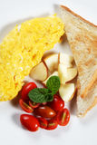 Healthy Low-fat breakfast 03 Stock Image