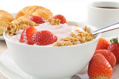 Healthy low fat breakfast Royalty Free Stock Photo