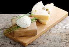 Healthy low fat cream cheese Stock Image