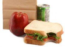 Healthy luch Royalty Free Stock Images