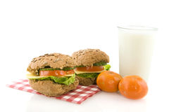 Healthy lunch royalty free stock photos