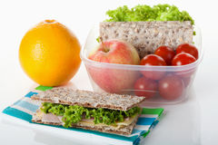 Healthy lunch box Royalty Free Stock Photography