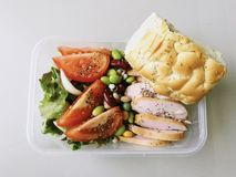 Healthy Lunch box Stock Photos