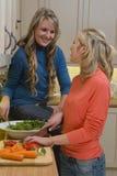 healthy lunch making στοκ εικόνες