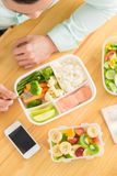 Healthy lunch Stock Photography