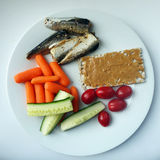 Healthy lunch Royalty Free Stock Images