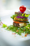 Healthy lunch(raw food) Royalty Free Stock Images