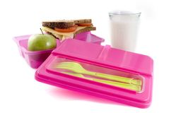 Healthy lunchbox Royalty Free Stock Photography