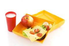Healthy lunchbox Stock Photos