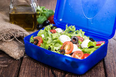 Healthy Lunchbox with fresh Salad Royalty Free Stock Images
