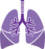 Healthy Lungs. Vector illustration clip-art eps royalty free illustration
