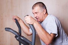 Healthy man exercising. Stock Image
