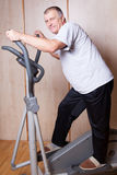 Healthy man exercising. Stock Images