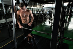 Healthy Man With Six Pack Royalty Free Stock Image
