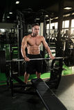 Healthy Man With Six Pack Royalty Free Stock Photo