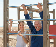Healthy mature couple Royalty Free Stock Photos
