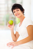 Healthy mature woman Stock Photography