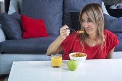 Healthy meal Stock Image