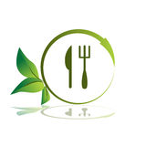 Healthy Meal Icon Royalty Free Stock Images