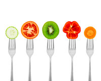 Healthy meal for weight dump Stock Image