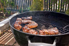 Healthy meat bbq Royalty Free Stock Photography