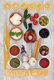 Healthy Mediterranean Food Royalty Free Stock Photography