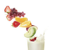 Healthy milkshake Royalty Free Stock Photography