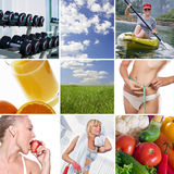 Healthy mix stock images