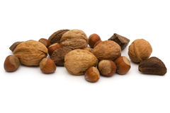 Healthy mixed nuts Stock Image