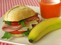 Healthy morning meal, closeup Stock Photography