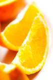 Healthy Morning - Orange Detail Royalty Free Stock Photos