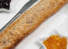 Healthy morning toast Royalty Free Stock Photos
