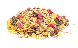 Healthy muesli Stock Image