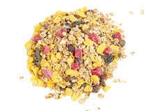 Healthy muesli Royalty Free Stock Images