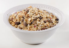 Healthy muesli for breakfast in a bowl Stock Photos