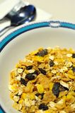 Healthy muesli or cereal Royalty Free Stock Photo