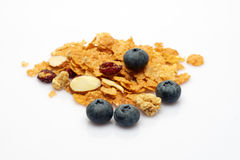 Healthy Muesli Cereal Stock Photo