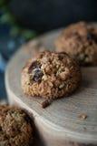 Healthy muesli cookies Stock Photography