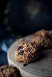 Healthy muesli cookies Stock Photo