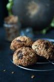 Healthy muesli cookies Royalty Free Stock Photography