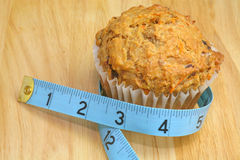 Healthy Muffin Royalty Free Stock Images
