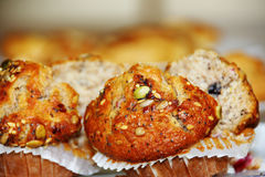 Healthy Muffins Royalty Free Stock Photography