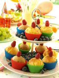 Healthy muffins royalty free stock images